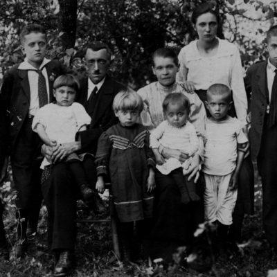 mit der familie 1923