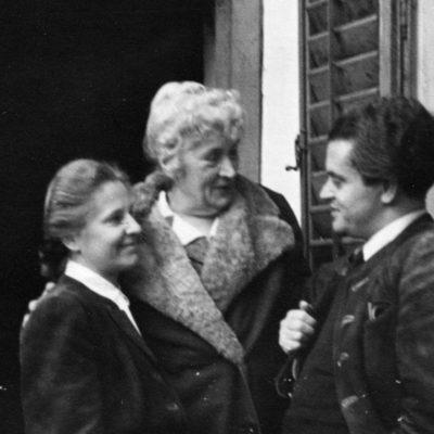 in Bad Aussee-Obertressen mit Hilda Dermota 1943