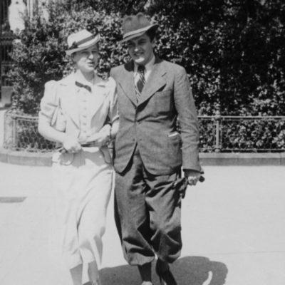 Anton Dermota und Hilda Berger von Weyerwald 1938