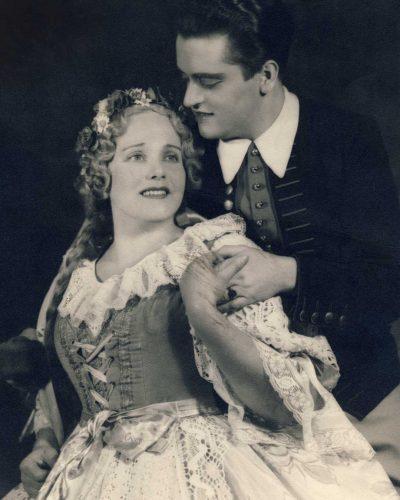 Staatsoper Wien 1940, Die verkaufte Braut von Friedrich Smetana, als Hans mit Maria Reining als Marie