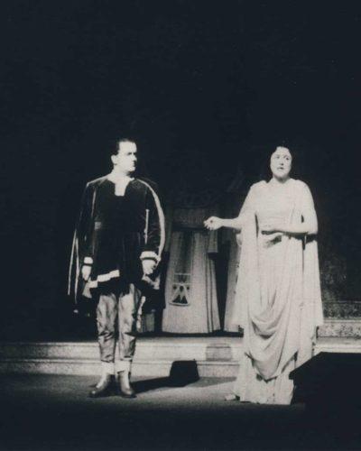 Salzburger Festspiele 1953, Leitung: Wilhelm Furtwängler, Bühne: Oskar Kokoschka