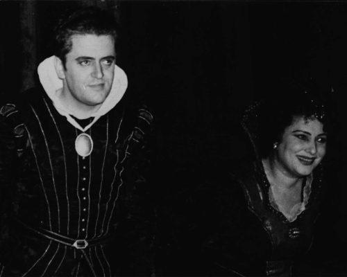 Brüssel 1947, Don Octavio in Don Giovanni von W. A. Mozart, mit Ljuba Welitsch als Donna Anna