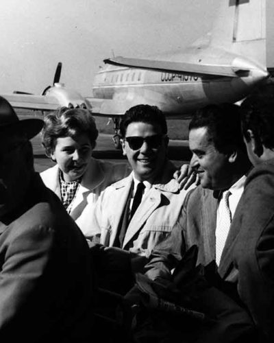 mit Christa Ludwig und Walter Berry 25.5.1959