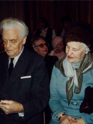 Matinee im Gobelinsaal der Wiener Oper 1988