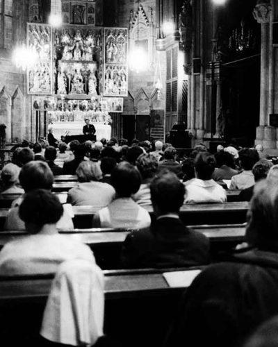 in der Stephanskirche 1976