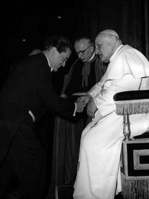 Te Deum von Anton Bruckner vor Papst Johannes XXIII. in Rom 1959